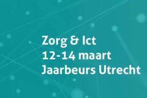 Bezoek onze stand op Zorg & Ict 12 t/m14 april